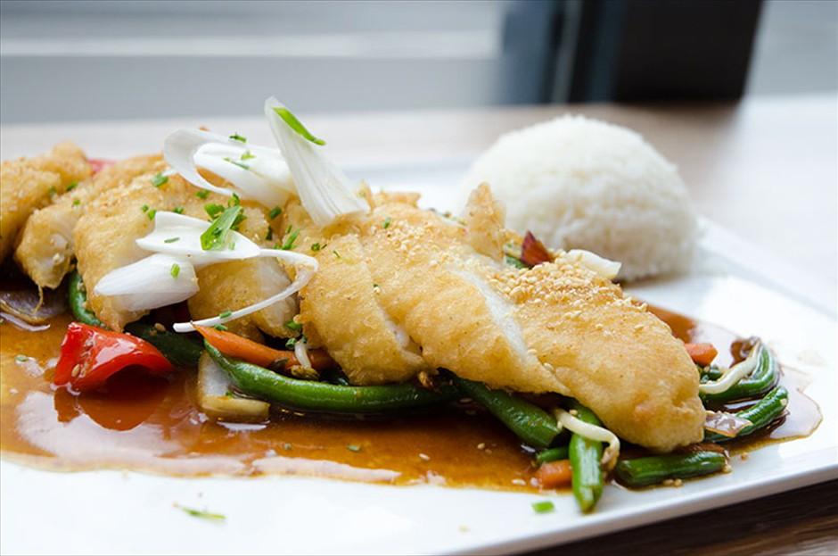 Teriyaki Fisch